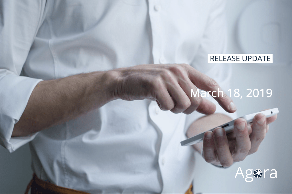 New Release March 18, 2019