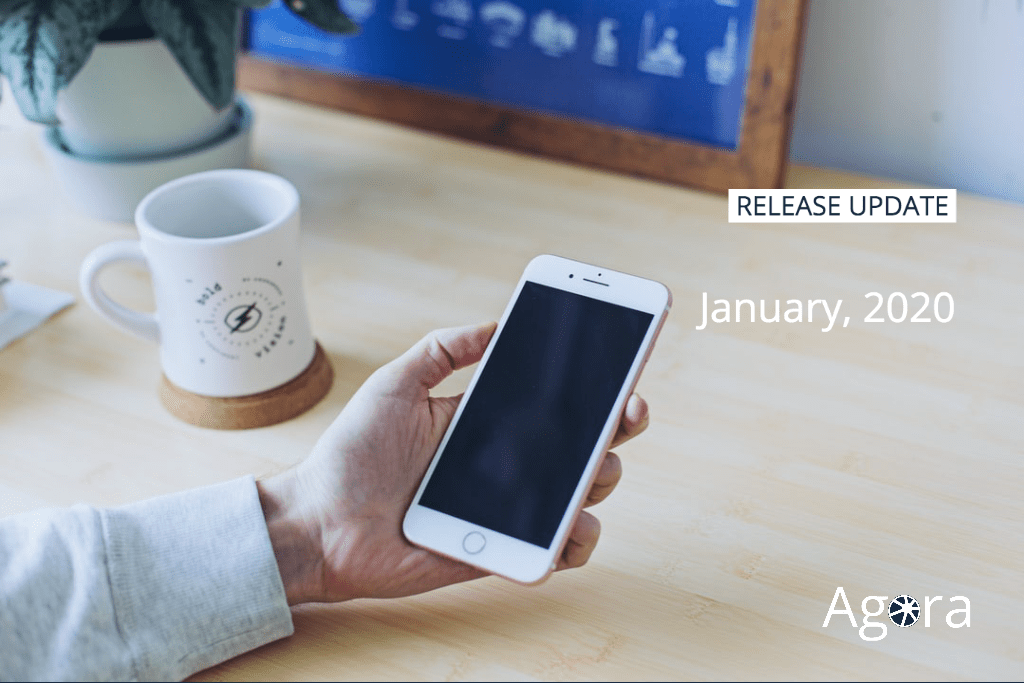 New release AGORA PLUS January 2020